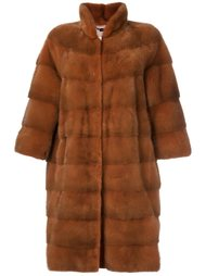 пальто с рукавами три четверти Manzoni 24