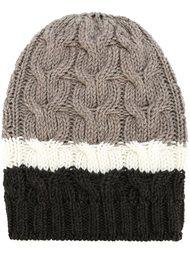шапка-бини в полоску P.A.R.O.S.H.