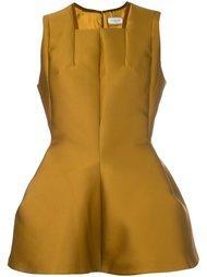 блузка с баской Lanvin