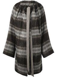 однобортное пальто в клетку Vivienne Westwood Anglomania
