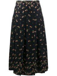 плиссированная юбка с цветочным узором Philosophy Di Lorenzo Serafini