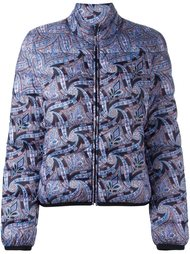 куртка-пуховик с узором пейсли Etro