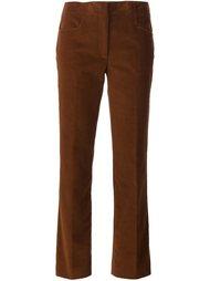 брюки прямого кроя  Derek Lam
