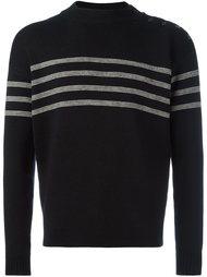 свитер с полосками Saint Laurent