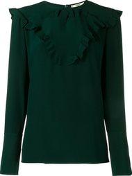 блузка с оборками Fendi