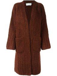 объемное пальто-кардиган Chloé