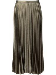 плиссированная юбка  Derek Lam