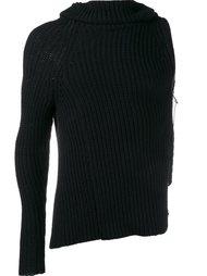 свитер с одним рукавом The Viridi-Anne