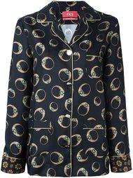 рубашка с леопардовым принтом  For Restless Sleepers