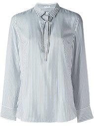 блузка в полоску Brunello Cucinelli