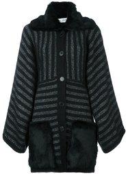 пальто в полоску Sonia Rykiel
