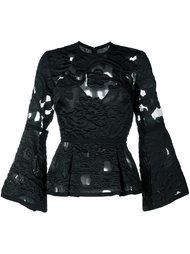 блузка с вышивкой Elie Saab