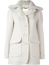 однобортное пальто  Chloé