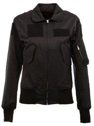 patch detail bomber jacket Yang Li