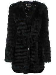 пальто с V-образным вырезом Just Cavalli