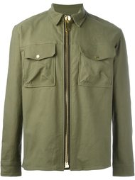 куртка-рубашка с нагрудными карманами  Palm Angels