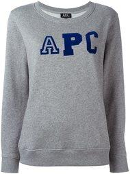 джемпер с логотипом A.P.C.