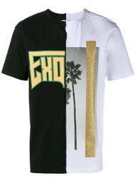 футболка с принтом пальмы Palm Angels