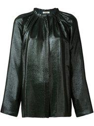 блузка с эффектом металлик Nina Ricci