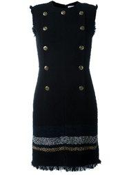 двубортное платье в стиле милитари Sonia Rykiel