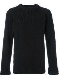 свитер ребристой вязки Yohji Yamamoto