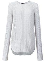 свитер с закругленным подолом Derek Lam