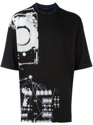 футболка с принтом X-Ray Diesel Black Gold