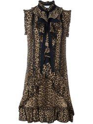 платье с леопардовым принтом   Zuhair Murad