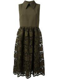 платье с кружевной юбкой Nº21