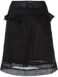 юбка с оборкой Peter Jensen