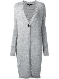вязаное пальто Derek Lam