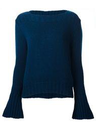 свитер с расклешенными рукавами Derek Lam