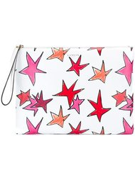 клатч с рисунком звезд Lanvin