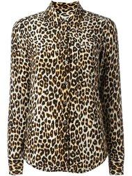 леопардовая рубашка Equipment