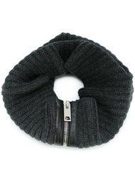 шарф декорированный молнией Les Hommes