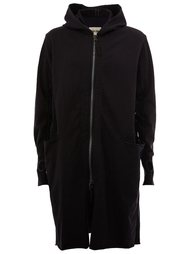 пальто средней длины с капюшоном Ziggy Chen