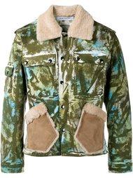 куртка с абстрактным принтом   James Long