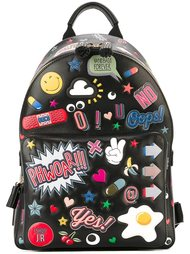 рюкзак 'All Over Stickers' Anya Hindmarch