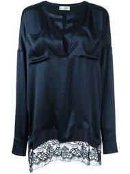 блузка с кружевным подолом Faith Connexion