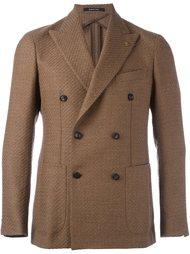 двубортное пальто с заостренными лацканами Tagliatore