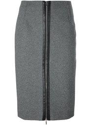 юбка-карандаш Mugler
