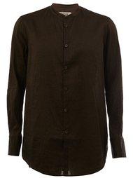 рубашка с воротником-мандарин Ziggy Chen