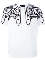 футболка с абстрактным узором Les Hommes