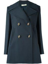 двубортное пальто Nina Ricci