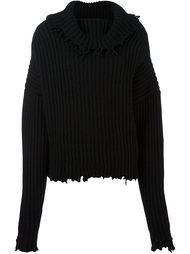 свитер свободного кроя  Unravel