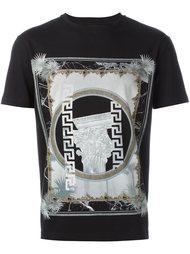 футболка с греческим принтом Versus