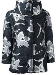 куртка-пуховик с цветочным узором Herno
