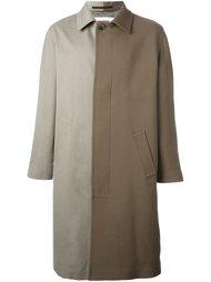 двухцветное пальто  Golden Goose Deluxe Brand