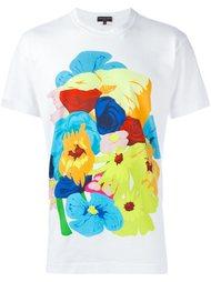 футболка с цветочным принтом   Comme Des Garçons Homme Plus
