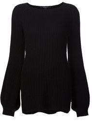 свитер с круглым вырезом  Derek Lam